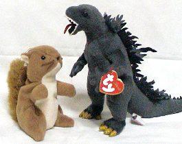 Godzilla Beanie Baby da2d2a880be