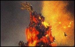 Godzilla's Death